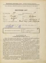 Popis prebivalstva 31. 3. 1931<br />Ljubljana<br />Mencingerjeva ulica 9<br />Population census 31 March 1931