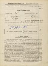 Popis prebivalstva 31. 3. 1931<br />Ljubljana<br />Mencingerjeva ulica NN1<br />Population census 31 March 1931