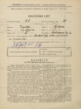 Popis prebivalstva 31. 3. 1931<br />Ljubljana<br />Mencingerjeva ulica NN3<br />Population census 31 March 1931