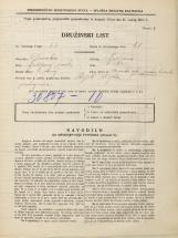 Popis prebivalstva 31. 3. 1931<br />Ljubljana<br />Mesarska cesta NN14<br />Population census 31 March 1931