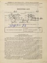 Popis prebivalstva 31. 3. 1931<br />Ljubljana<br />Mestni trg 10<br />Population census 31 March 1931