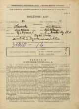 Popis prebivalstva 31. 3. 1931<br />Ljubljana<br />Mestni trg 11<br />Population census 31 March 1931