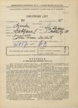 Popis prebivalstva 31. 3. 1931<br />Ljubljana<br />Mestni trg 18<br />Population census 31 March 1931