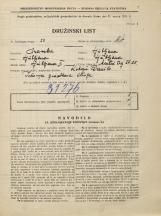 Popis prebivalstva 31. 3. 1931<br />Ljubljana<br />Mestni trg 25<br />Population census 31 March 1931