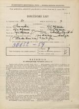 Popis prebivalstva 31. 3. 1931<br />Ljubljana<br />Mestni trg 4<br />Population census 31 March 1931