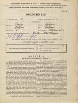 Popis prebivalstva 31. 3. 1931<br />Ljubljana<br />Metelkova ulica 1<br />Population census 31 March 1931