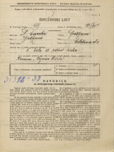 Popis prebivalstva 31. 3. 1931<br />Ljubljana<br />Metelkova ulica 2<br />Population census 31 March 1931