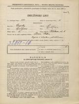 Popis prebivalstva 31. 3. 1931<br />Ljubljana<br />Metelkova ulica 5<br />Population census 31 March 1931