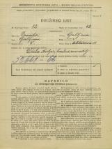 Popis prebivalstva 31. 3. 1931<br />Ljubljana<br />Miklošičeva cesta 10<br />Population census 31 March 1931