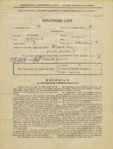 Popis prebivalstva 31. 3. 1931<br />Ljubljana<br />Miklošičeva cesta 24<br />Population census 31 March 1931
