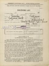 Popis prebivalstva 31. 3. 1931<br />Ljubljana<br />Miklošičeva cesta 3<br />Population census 31 March 1931