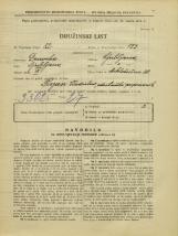 Popis prebivalstva 31. 3. 1931<br />Ljubljana<br />Miklošičeva cesta 30<br />Population census 31 March 1931