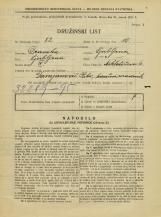 Popis prebivalstva 31. 3. 1931<br />Ljubljana<br />Miklošičeva cesta 6<br />Population census 31 March 1931