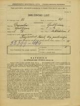 Popis prebivalstva 31. 3. 1931<br />Ljubljana<br />Miklošičeva cesta 8<br />Population census 31 March 1931