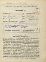 Popis prebivalstva 31. 3. 1931<br />Ljubljana<br />Miklošičeva cesta NN1<br />Population census 31 March 1931