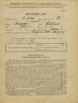 Popis prebivalstva 31. 3. 1931<br />Ljubljana<br />Mirje 1<br />Population census 31 March 1931
