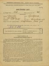Popis prebivalstva 31. 3. 1931<br />Ljubljana<br />Močnikova ulica 3<br />Population census 31 March 1931