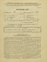 Popis prebivalstva 31. 3. 1931<br />Ljubljana<br />Močnikova ulica 6<br />Population census 31 March 1931