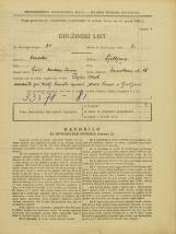 Popis prebivalstva 31. 3. 1931<br />Ljubljana<br />Murnikova ulica 18<br />Population census 31 March 1931