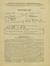 Popis prebivalstva 31. 3. 1931<br />Ljubljana<br />Murnikova ulica 18a<br />Population census 31 March 1931