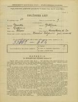 Popis prebivalstva 31. 3. 1931<br />Ljubljana<br />Murnikova ulica 20<br />Population census 31 March 1931