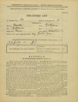 Popis prebivalstva 31. 3. 1931<br />Ljubljana<br />Murnikova ulica 24<br />Population census 31 March 1931