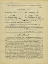 Popis prebivalstva 31. 3. 1931<br />Ljubljana<br />Murnova ulica 4<br />Population census 31 March 1931