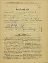 Popis prebivalstva 31. 3. 1931<br />Ljubljana<br />Murnova ulica 6<br />Population census 31 March 1931