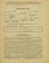 Popis prebivalstva 31. 3. 1931<br />Ljubljana<br />Na stolbi 4<br />Population census 31 March 1931