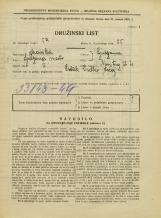 Popis prebivalstva 31. 3. 1931<br />Ljubljana<br />Novi trg 4<br />Population census 31 March 1931