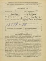 Popis prebivalstva 31. 3. 1931<br />Ljubljana<br />Novi trg 5<br />Population census 31 March 1931