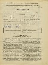 Popis prebivalstva 31. 3. 1931<br />Ljubljana<br />Nunska ulica 10<br />Population census 31 March 1931