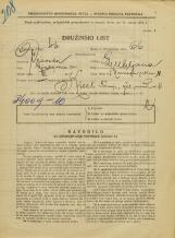 Popis prebivalstva 31. 3. 1931<br />Ljubljana<br />Nunska ulica 11<br />Population census 31 March 1931