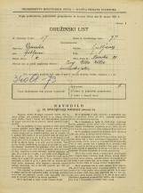 Popis prebivalstva 31. 3. 1931<br />Ljubljana<br />Nunska ulica 21<br />Population census 31 March 1931