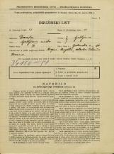 Popis prebivalstva 31. 3. 1931<br />Ljubljana<br />Opekarska cesta 10<br />Population census 31 March 1931