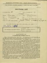 Popis prebivalstva 31. 3. 1931<br />Ljubljana<br />Opekarska cesta 19<br />Population census 31 March 1931