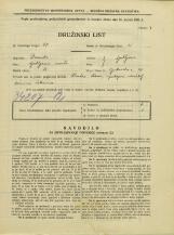 Popis prebivalstva 31. 3. 1931<br />Ljubljana<br />Opekarska cesta 20<br />Population census 31 March 1931