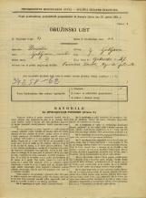 Popis prebivalstva 31. 3. 1931<br />Ljubljana<br />Opekarska cesta 27<br />Population census 31 March 1931
