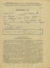 Popis prebivalstva 31. 3. 1931<br />Ljubljana<br />Opekarska cesta 29<br />Population census 31 March 1931