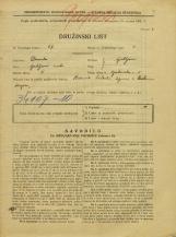 Popis prebivalstva 31. 3. 1931<br />Ljubljana<br />Opekarska cesta 3<br />Population census 31 March 1931