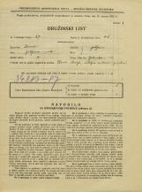 Popis prebivalstva 31. 3. 1931<br />Ljubljana<br />Opekarska cesta 32<br />Population census 31 March 1931