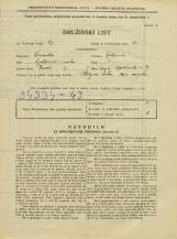 Popis prebivalstva 31. 3. 1931<br />Ljubljana<br />Opekarska cesta 38<br />Population census 31 March 1931