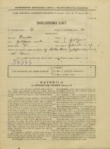Popis prebivalstva 31. 3. 1931<br />Ljubljana<br />Opekarska cesta 39<br />Population census 31 March 1931