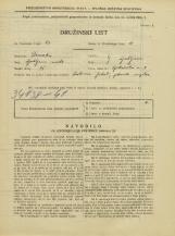 Popis prebivalstva 31. 3. 1931<br />Ljubljana<br />Opekarska cesta 8<br />Population census 31 March 1931