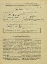 Popis prebivalstva 31. 3. 1931<br />Ljubljana<br />Opekarska cesta NN1<br />Population census 31 March 1931