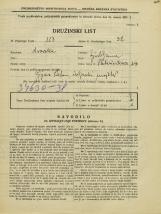 Popis prebivalstva 31. 3. 1931<br />Ljubljana<br />Pleteršnikova ulica 14<br />Population census 31 March 1931