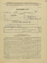 Popis prebivalstva 31. 3. 1931<br />Ljubljana<br />Pleteršnikova ulica 15<br />Population census 31 March 1931