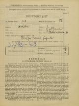 Popis prebivalstva 31. 3. 1931<br />Ljubljana<br />Pleteršnikova ulica 30<br />Population census 31 March 1931