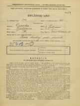 Popis prebivalstva 31. 3. 1931<br />Ljubljana<br />Podmilščakova ulica 38<br />Population census 31 March 1931