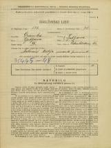 Popis prebivalstva 31. 3. 1931<br />Ljubljana<br />Podmilščakova ulica 43<br />Population census 31 March 1931